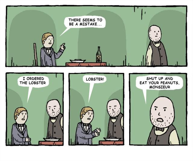 waiter copy